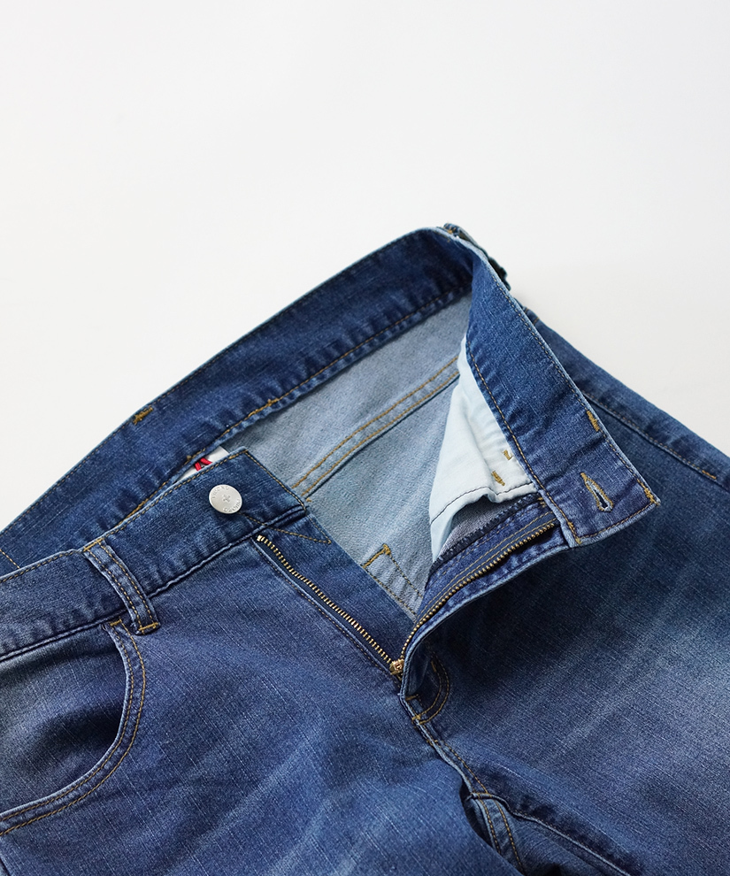 SUPER STRETCH DENIM - USED WASH -